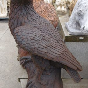 #2 - Large Concrete Eagle (cast iron $335)