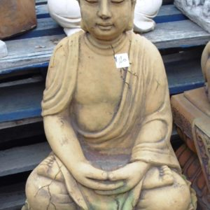 #3 - Thai Buddha on Oval Base (rust_green)