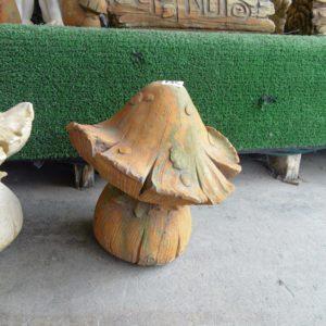 #5 - Single Mushroom Short (rust_green)