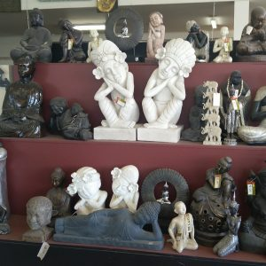Resin Lightweight Buddhas, Ganesh and more