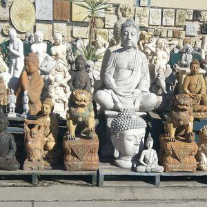 Concrete Buddhas & Monks