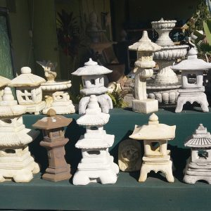 Concrete Lanterns and Pagodas