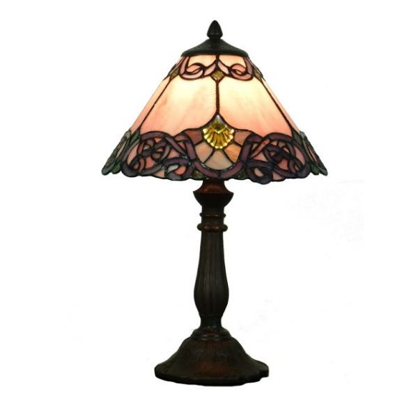 Pink Melba 12 Table Lamp