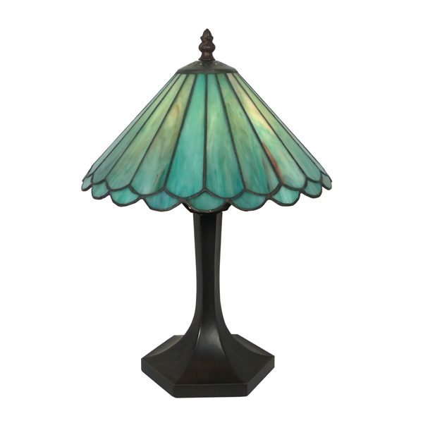 Teal Ellie 10 Lamp