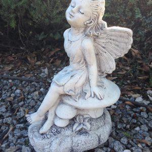 Fairy on Mushroom